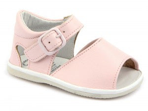 Casual Sandals Pink for Girls Leather Patucos Shoes