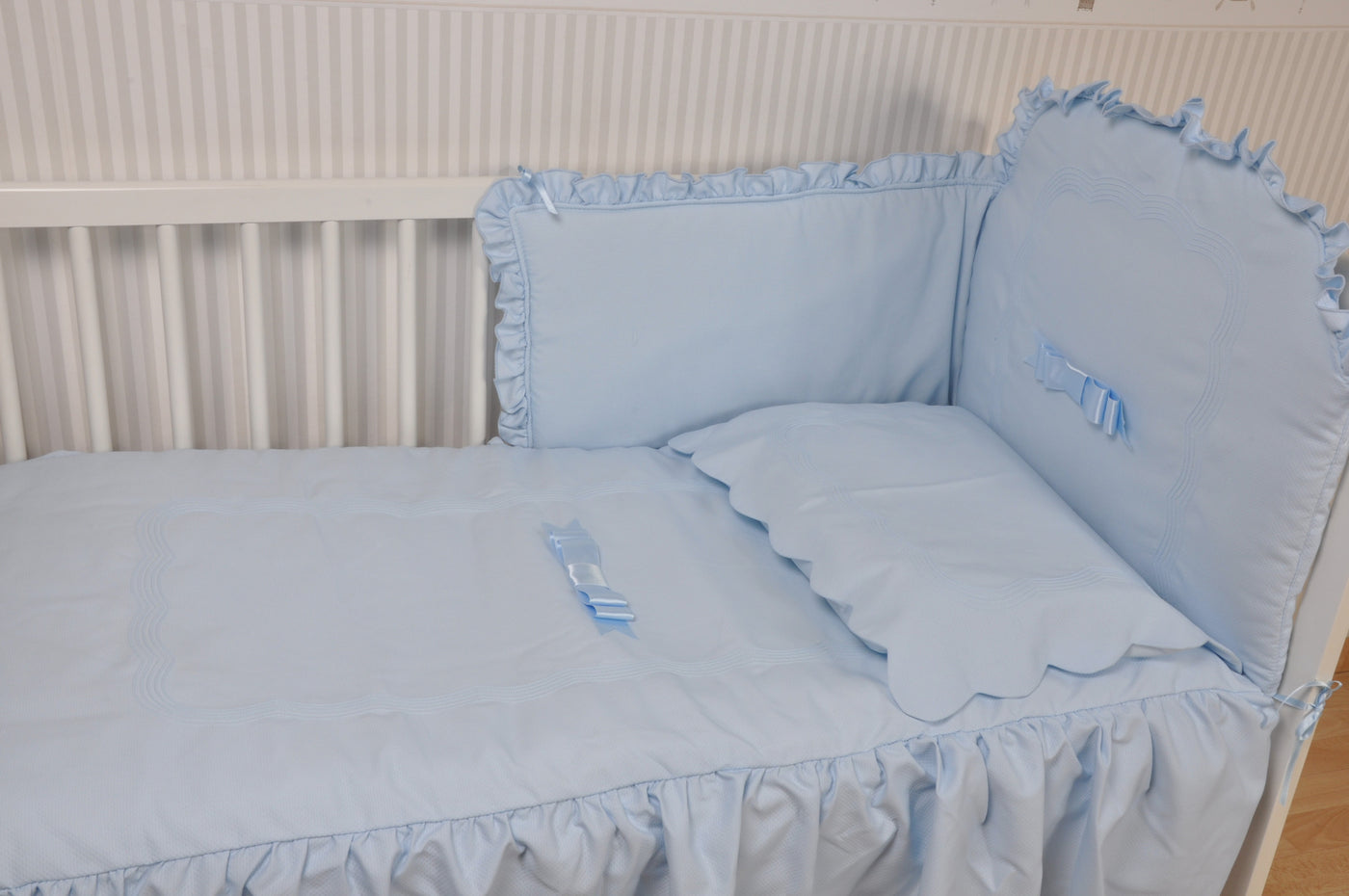 Cotton Candy Cot quilt & bumper