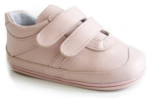 Casual Sport Pink soft leather shoes  for Girls by Patucos