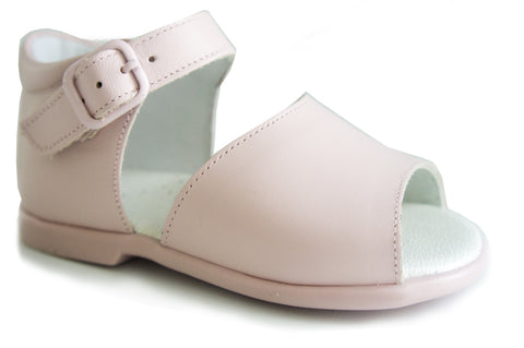 Casual Sandals Pink for Girls Patucos Leather Shoes for Baby