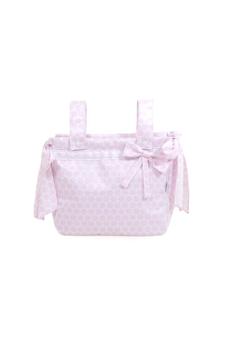 Pink Full Moon Plasticized Bag for Stroller