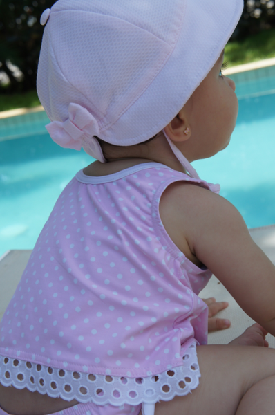 cotton baby hat, sun protection