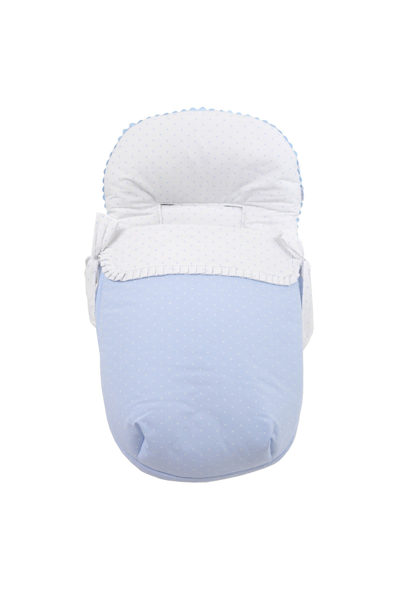Stroller Universal Cotton Cover and Liner- Blue Star Collection