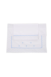 Blue Star Crib sheet Set