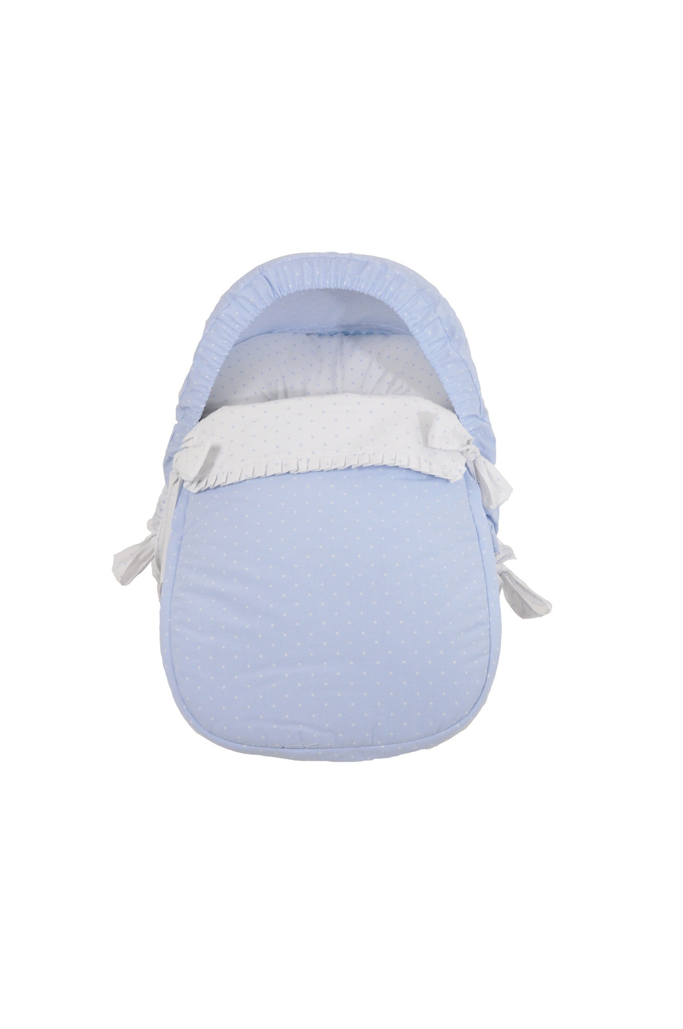 Blue Star Car seat cover with hood