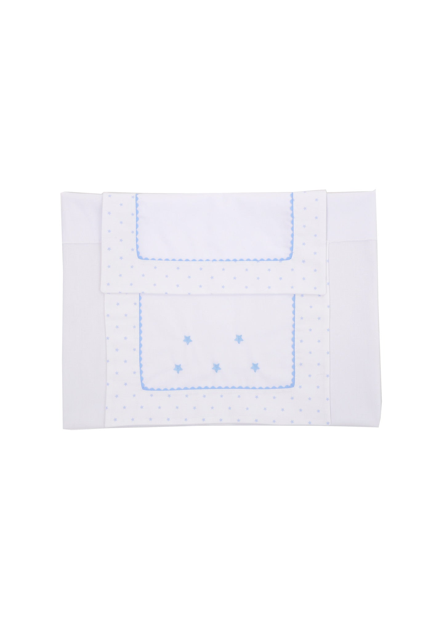 Blue Star Pram Sheet Set