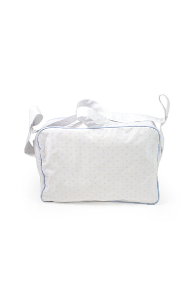 white maternal bag