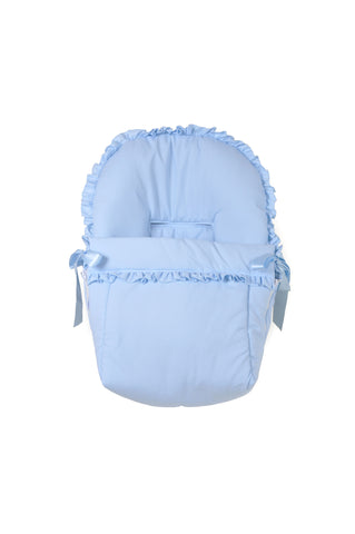 Patucos Cotton Candy Car seat cover with hood