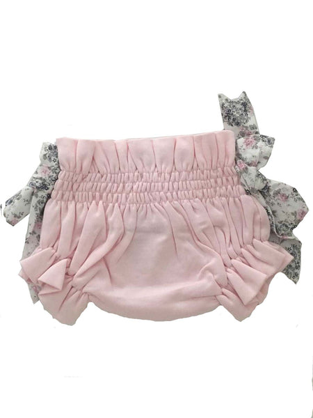 pima cotton culotte baby girl set