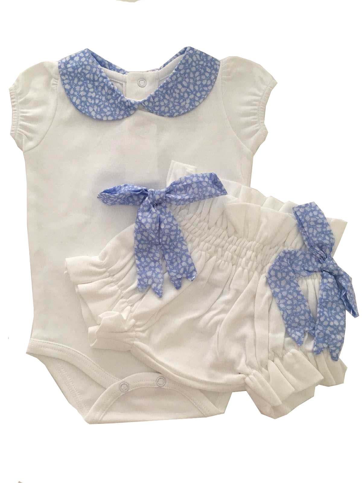 Pima Cotton Body and culotte baby girl