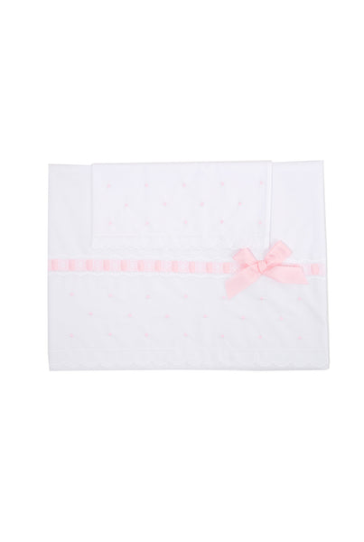 My Little Treasure Cot Sheet Set