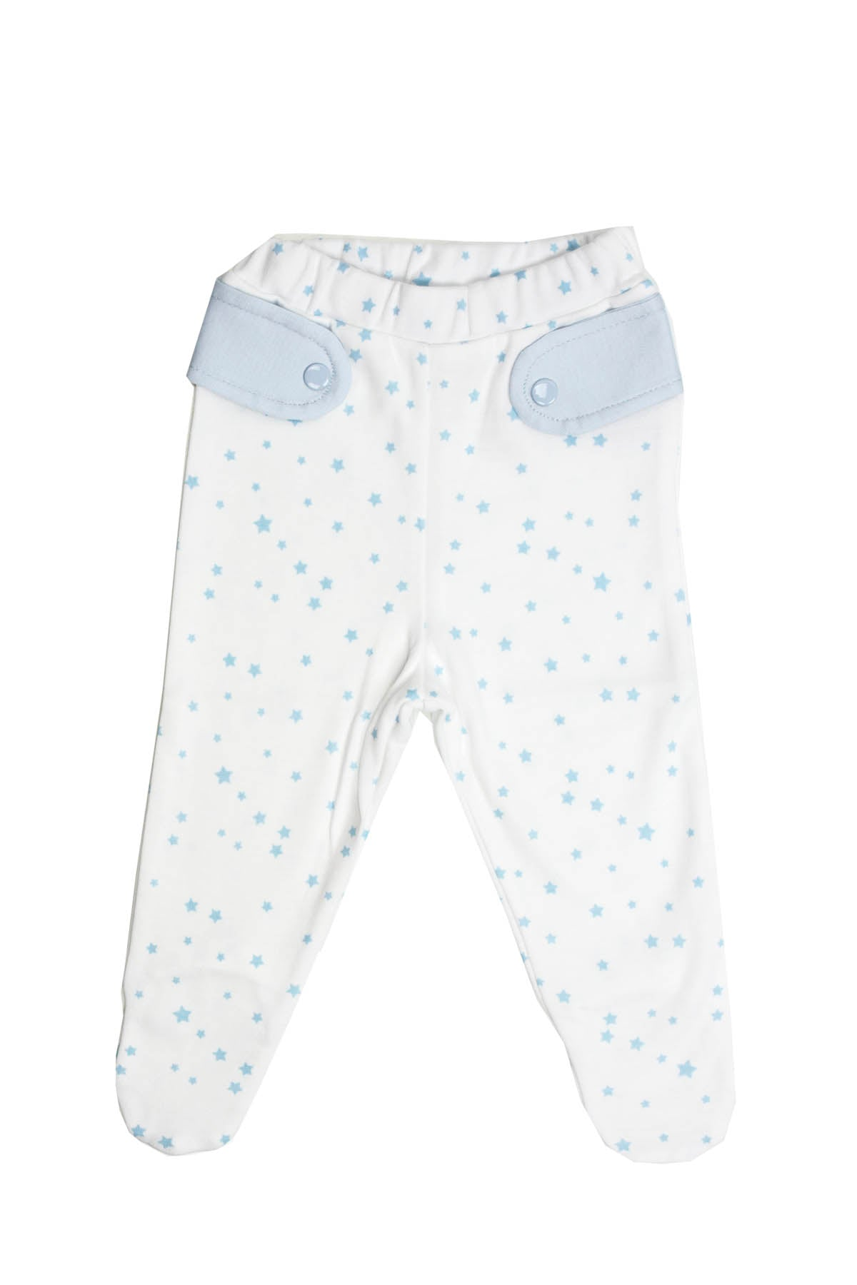 Pants Blue Stars Baby Pima Cotton