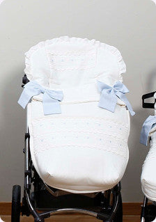 Sugar cane Pushchair liner and cover ( compatible with bugaboo strollers )