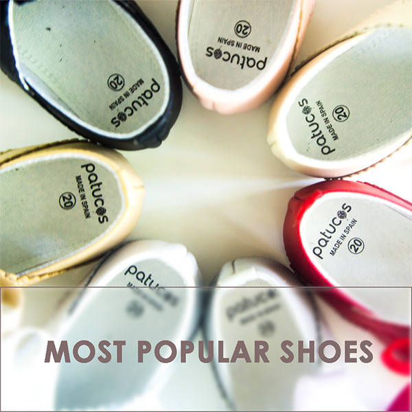 Most popular baby shoes