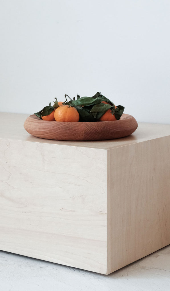 De Jong & Co Fruit Bowl: Oak
