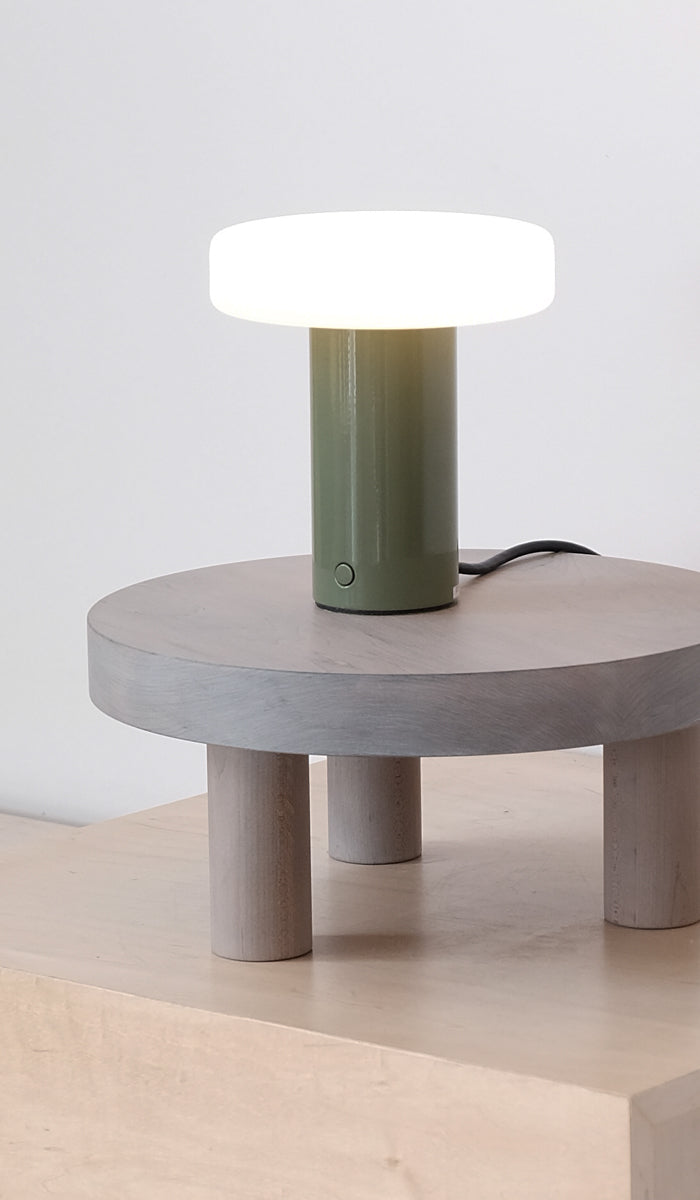 In Common With Puck Table Lamp, Home Goods, In Common With, SPARTAN SHOP