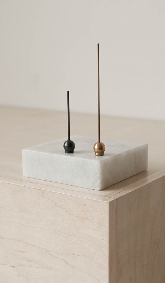 Brass Ball Incense Holder, Bath/Apothecary, Saikai*, SPARTAN SHOP