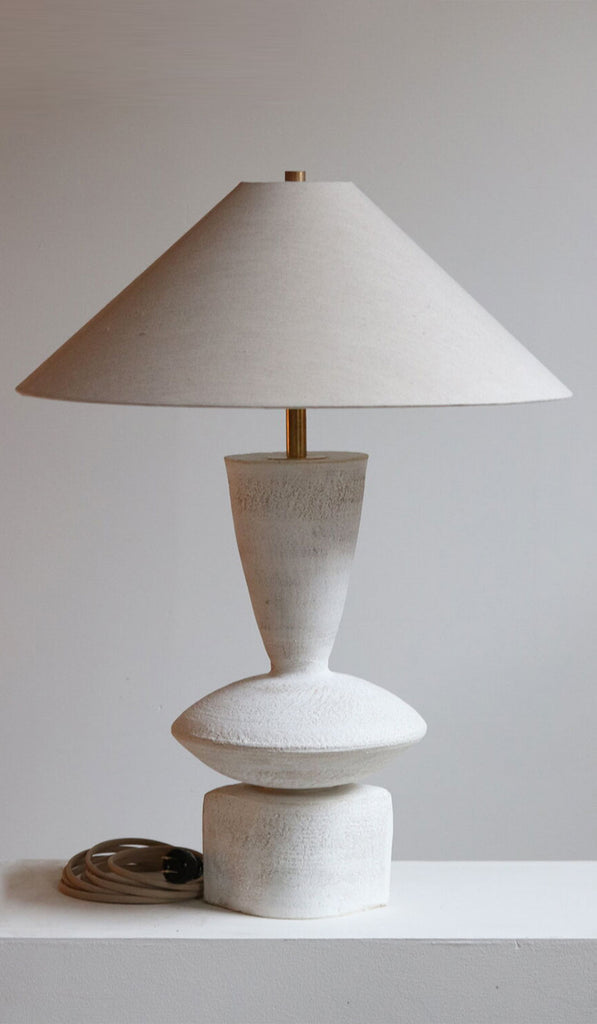 Danny Kaplan Ceramic Luna Table Lamp