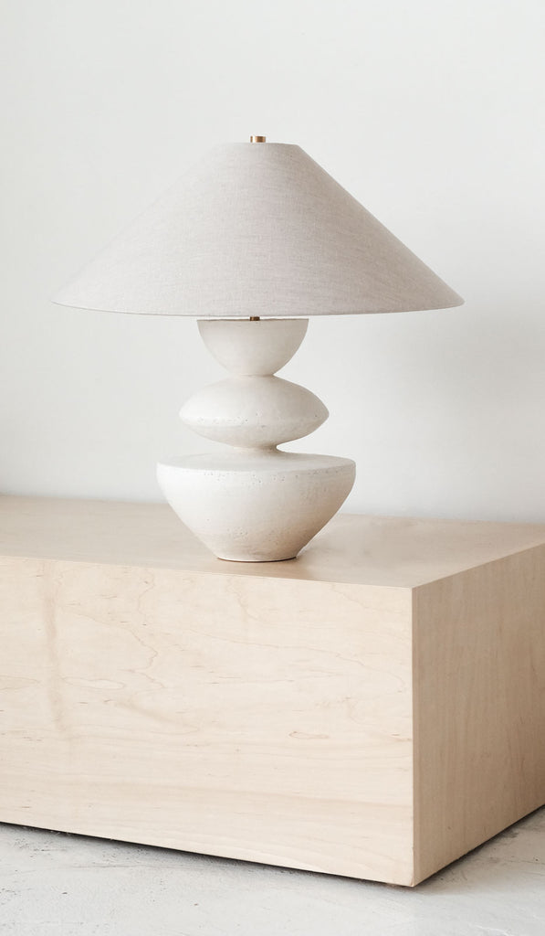 Danny Kaplan Janus Ceramic Table Lamp