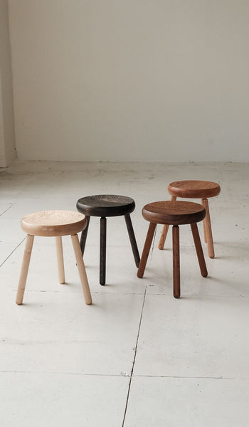 De Jong & Co Hand-Tooled Dibbet Stool, , De Jong & Co, SPARTAN SHOP