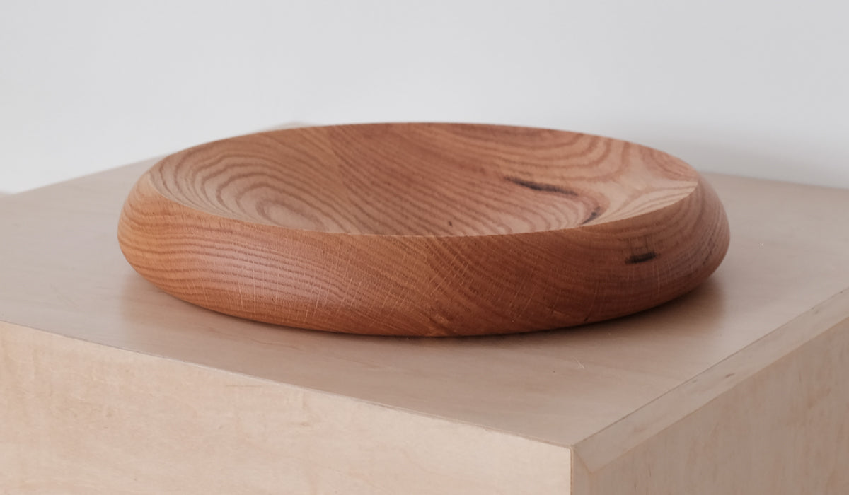De Jong & Co Fruit Bowl: Oak, Tabletop, De Jong & Co, SPARTAN SHOP