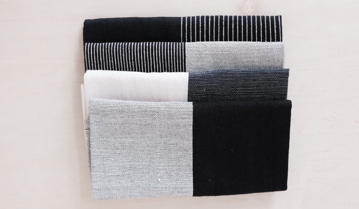 Diario Woven Cotton Napkin Set of 4, Tabletop, Diario, SPARTAN SHOP