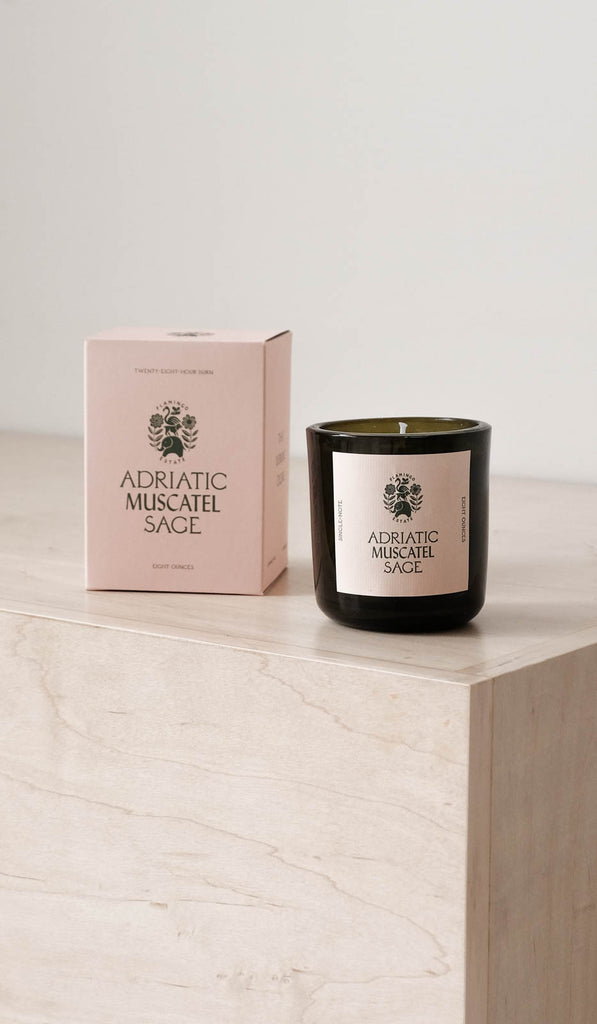 Flamingo Estate Candle: Adriatic Muscatel Sage, Bath/Apothecary, Flamingo Estate, SPARTAN SHOP