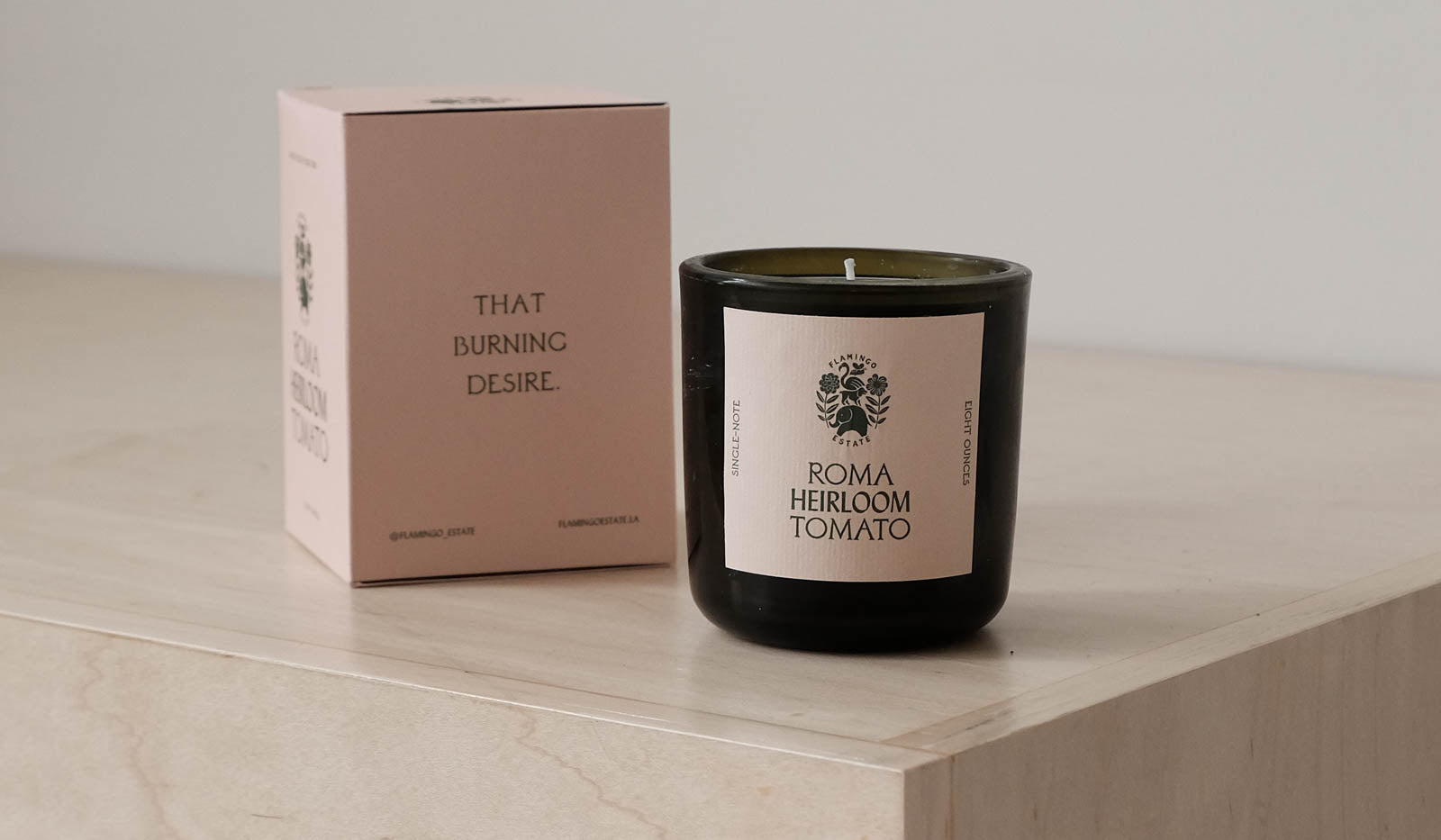 Flamingo Estate Candle: Roma Heirloom Tomato, Bath/Apothecary, Flamingo Estate, SPARTAN SHOP
