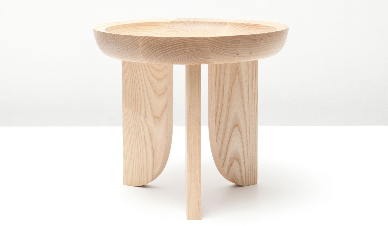 Grain Dish Side Table