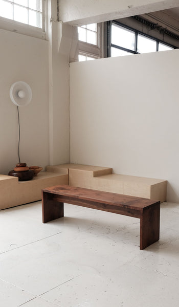 Fieldwork Studio Bench: Walnut