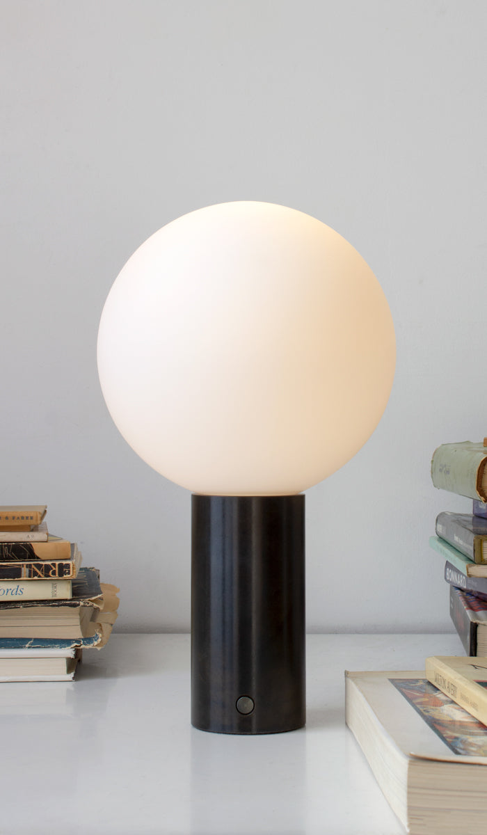 In Common With Orb Table Lamp: Medium, , In Common With, SPARTAN SHOP