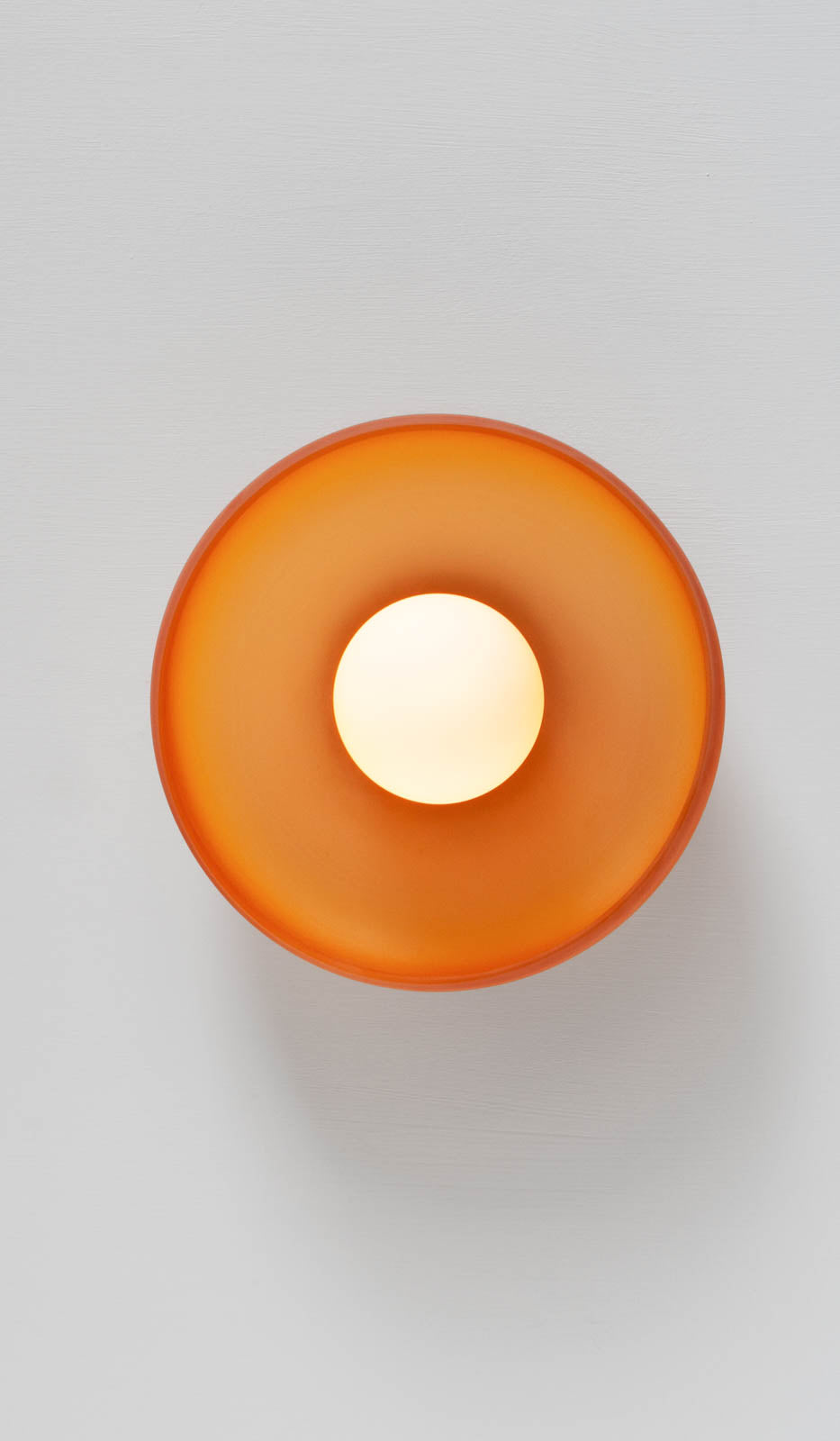 In Common With Hand Blown Glass Sconce: Amber, , In Common With, SPARTAN SHOP