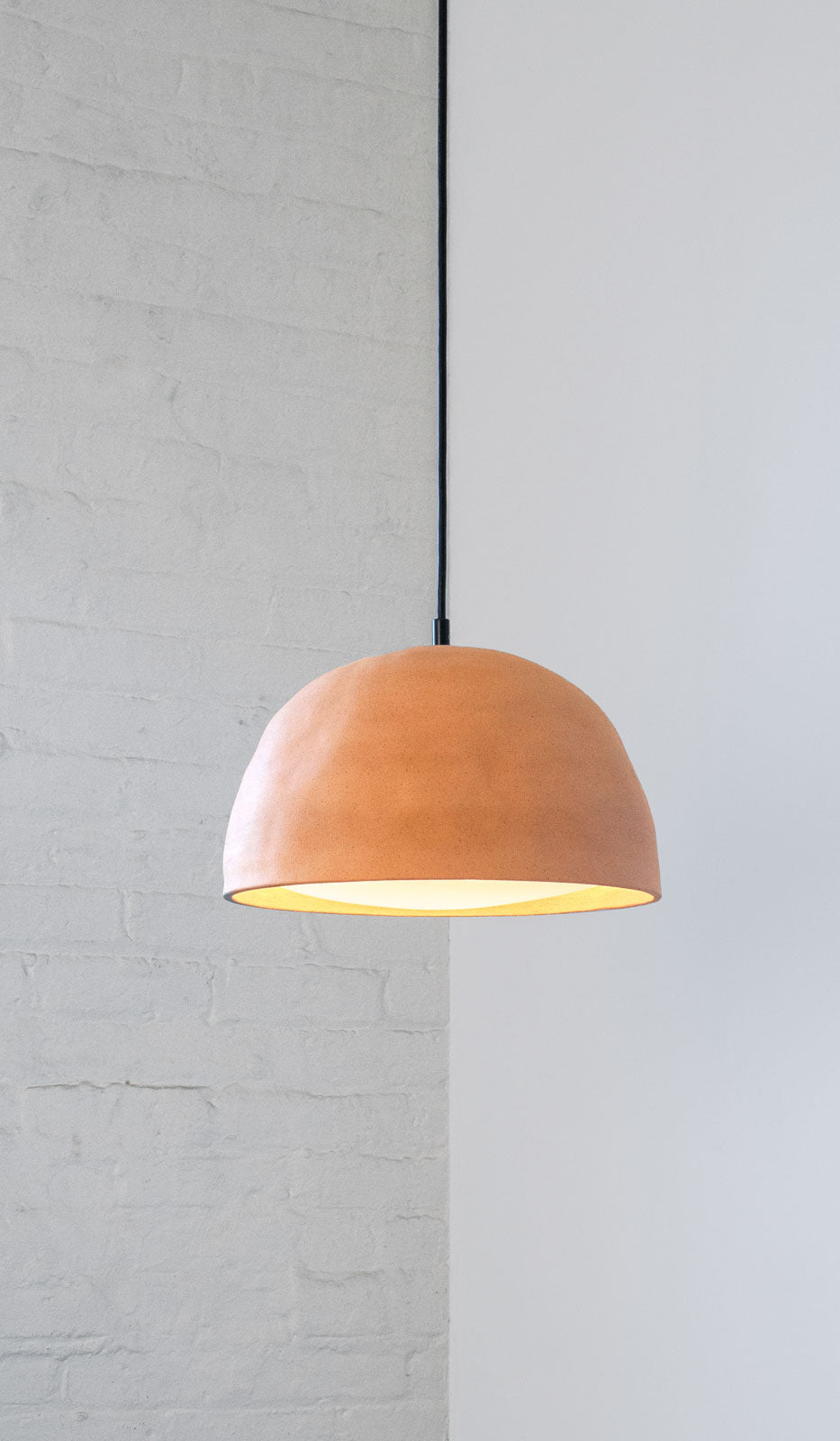 In Common With Ceramic Dome Pendant