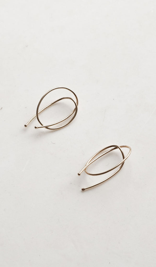 Kathleen Whitaker Rope Earrings