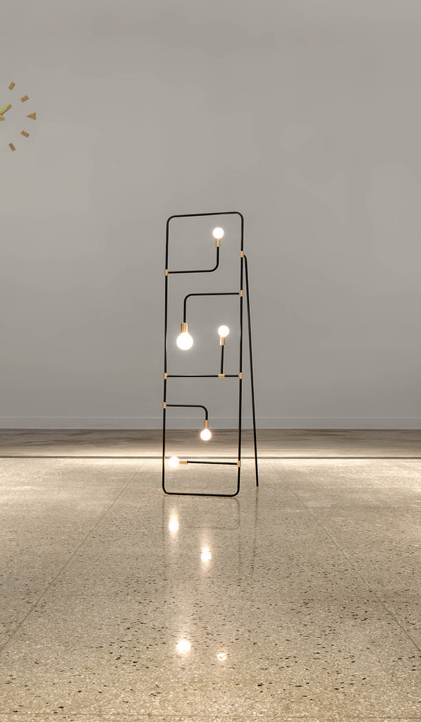 Lambert & Fils Beaubien 01 Floor Lamp