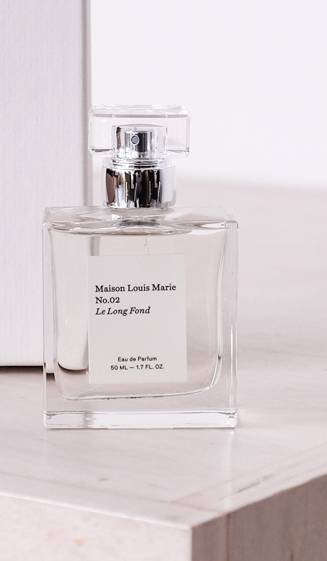 Eau de Parfum No. 2: Le Long Fond