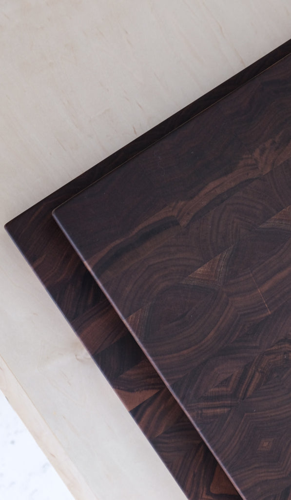 Jacob May Wesley Butcher Blocks: Black Walnut, Home Goods, Jacob May, SPARTAN SHOP
