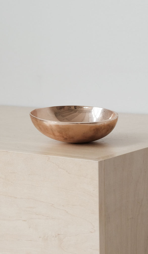 Nancy Pearce Simple Cast Bronze Bowl