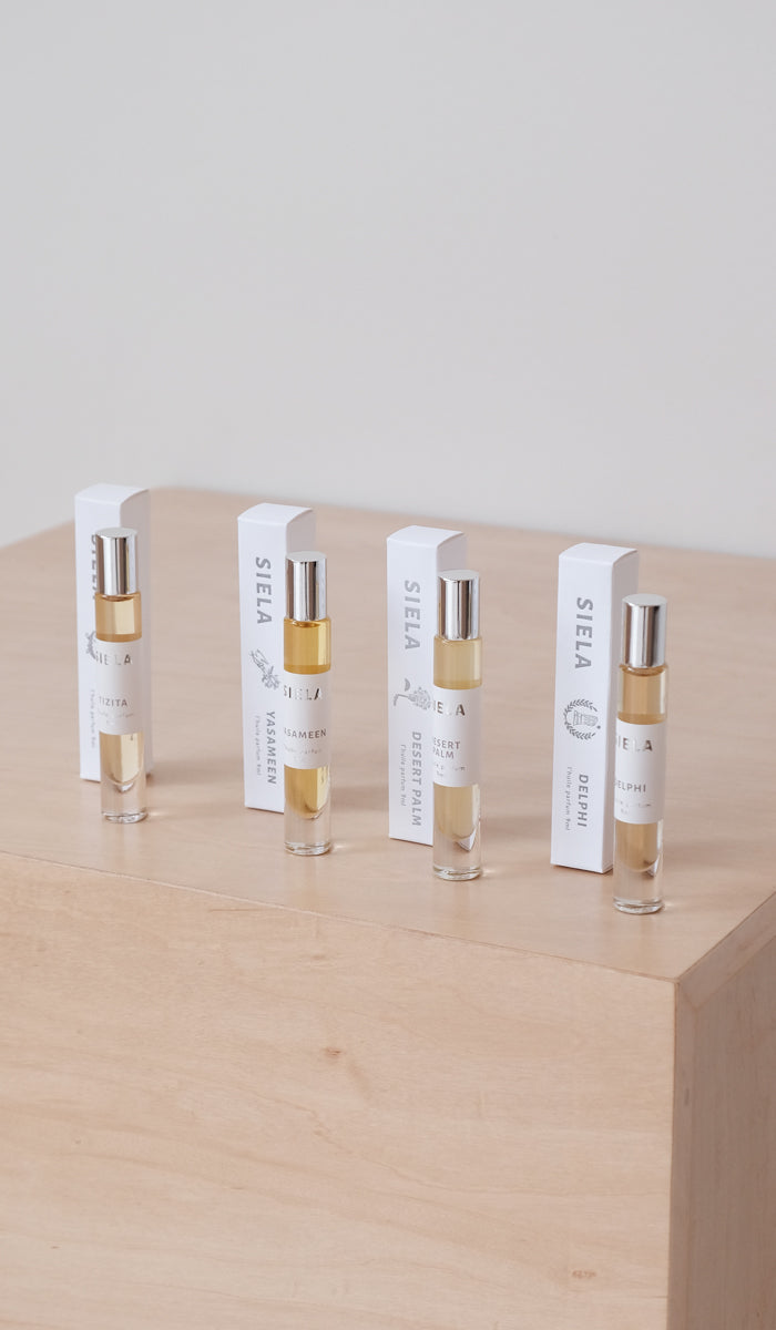 Siela Fragrances: Roller Ball, Bath/Apothecary, Olo, SPARTAN SHOP