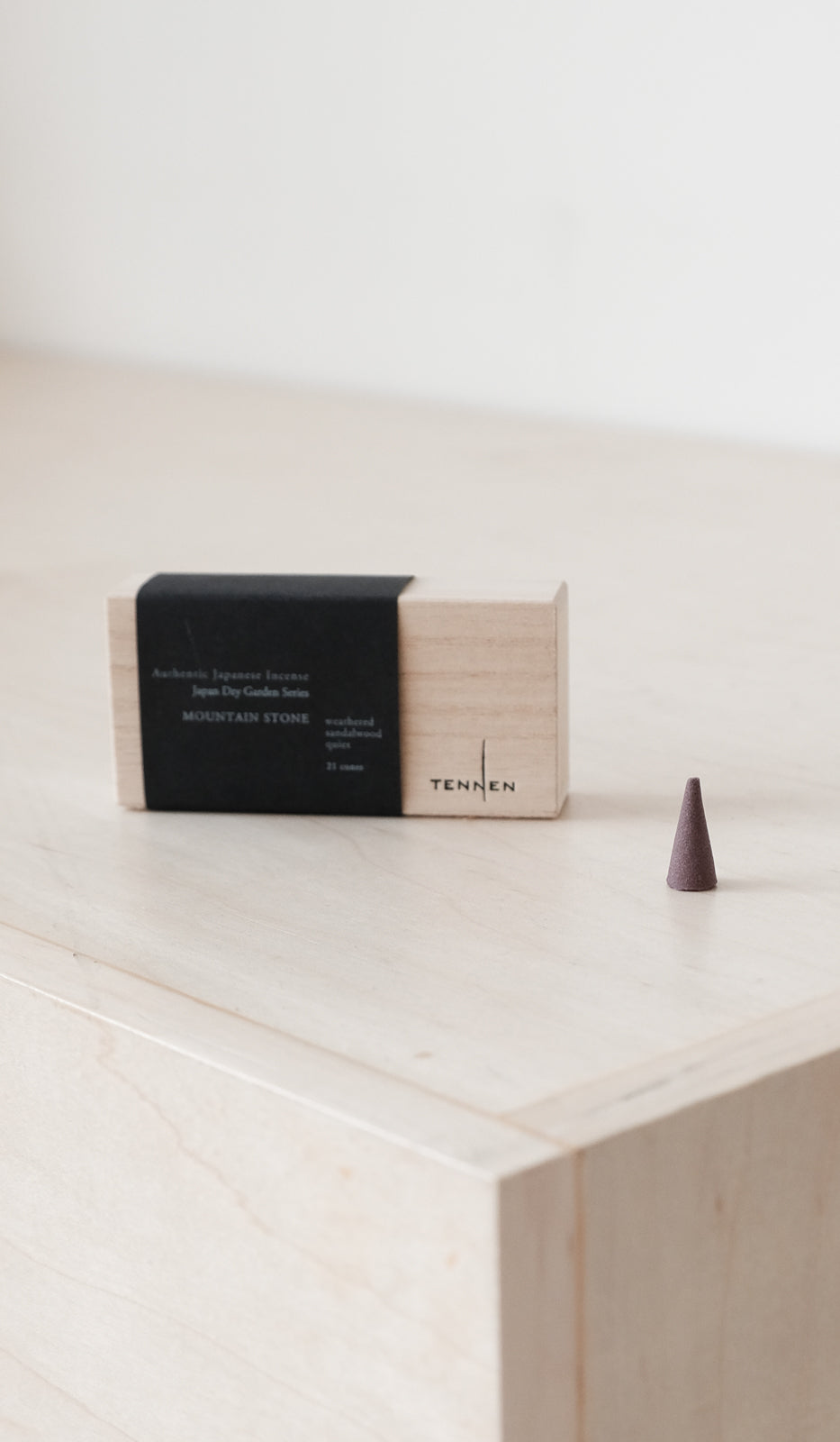 Tennen Incense Cones: Mountain Stone, Bath/Apothecary, Tennen, SPARTAN SHOP