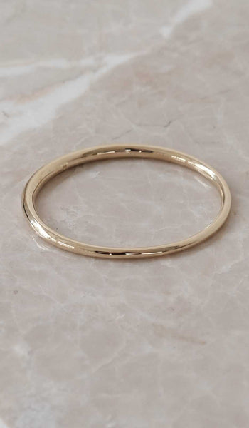 Ursa Major Simple Tapered Bangle Bracelet: Brass, Jewelry, Ursa Major, SPARTAN SHOP