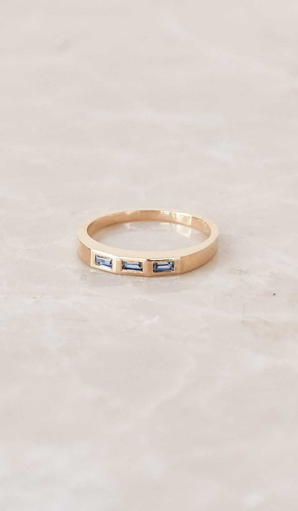 Ursa Major Stella Ring: 18K Gold with Sapphires, Jewelry, Ursa Major, SPARTAN SHOP