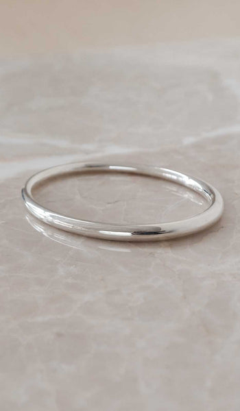 Ursa Major Simple Tapered Bangle Bracelet: Sterling Silver, Jewelry, Ursa Major, SPARTAN SHOP