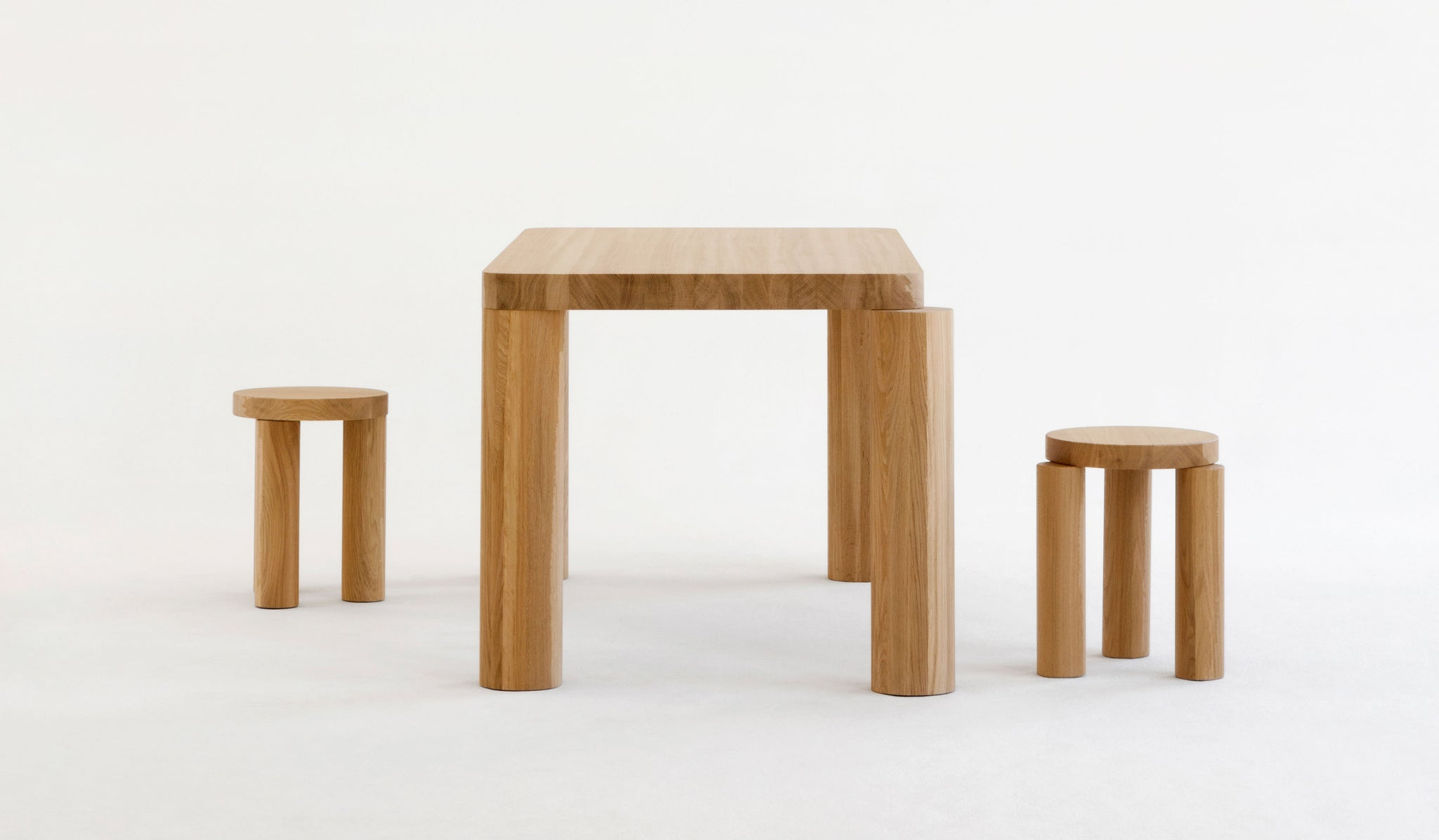 Resident Offset Dining Table