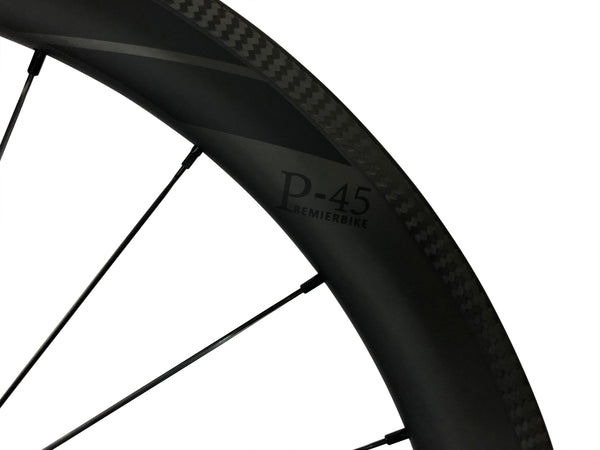 650c Rear Wheels - Carbon Fiber (Clincher)