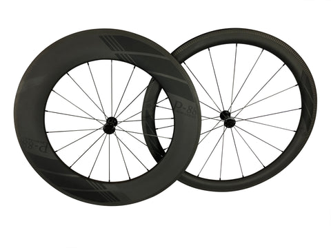 650c Front Wheel - Carbon Fiber (Clincher)