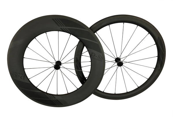 700c Front Wheel Carbon Fiber (Clincher)