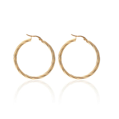 Get Twisted Hoops