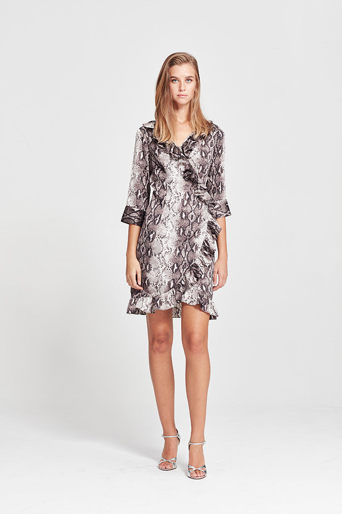 Milena Wrap Dress - Short - Yvonne Bennetti
