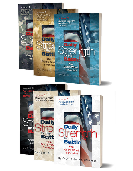 Daily Strength for the Battle 6-Volume Set